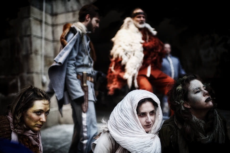 We Players' Macbeth at Fort Point, 2014