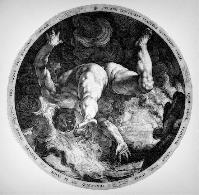 Hendrick Goltzius, Ixion, Classical Drama, Iota,