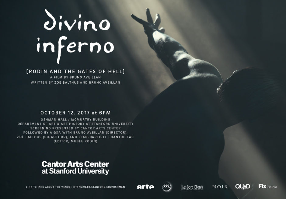 Film Screening Cantor Arts Center At Stanford University Rodin And