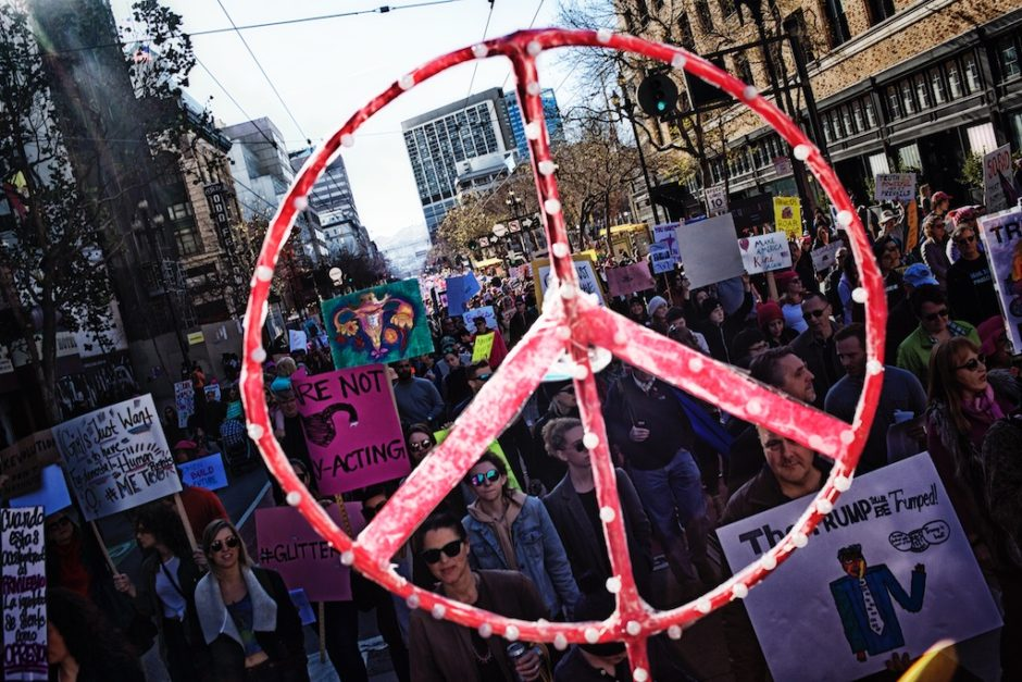 Womens March, San Francisco, 2018, Donal J. Trump. photography, documentation, resistance, government shutdown, photo journalism