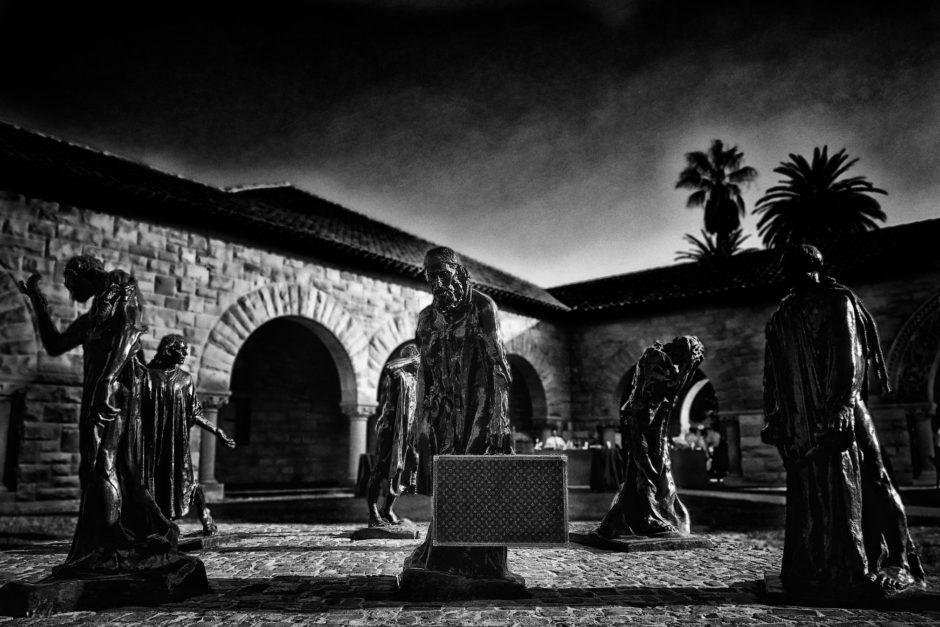 The Burghers of Calais, Rodin, Stanford University, Stanford Arts, Cantor Museum, Stanford Quad, art, artist, documentation, potography